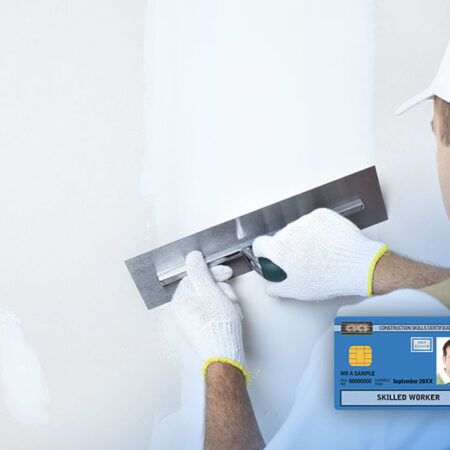 Level 2 NVQ Diploma in Plastering (Construction)
