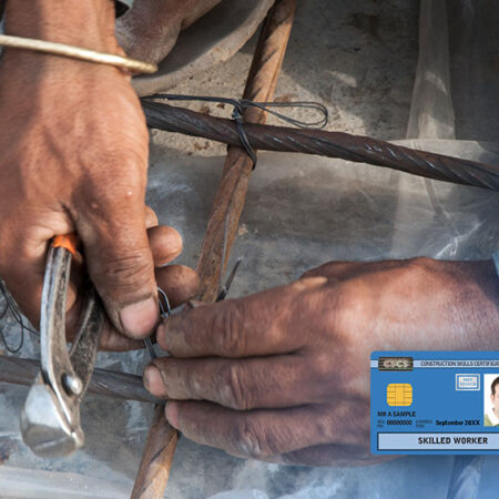 Level 2 NVQ Diploma in Steelfixing Occupations (Construction)